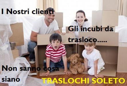TRASLOCHI SOLETO PREZZI