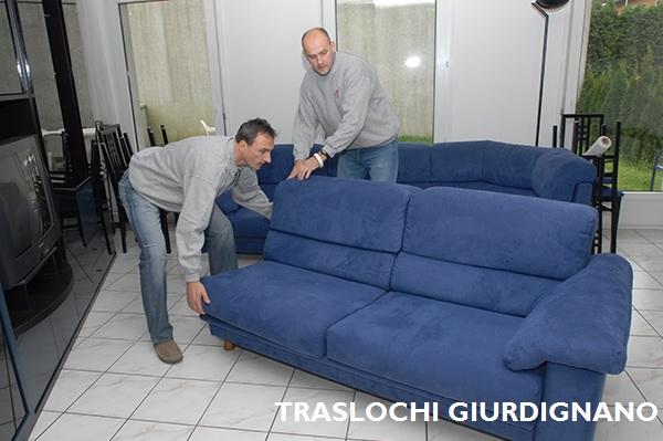 TRASLOCHI GIURDIGNANO