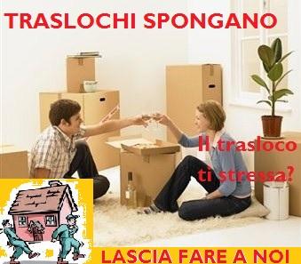 TRASLOCHI SPONGANO