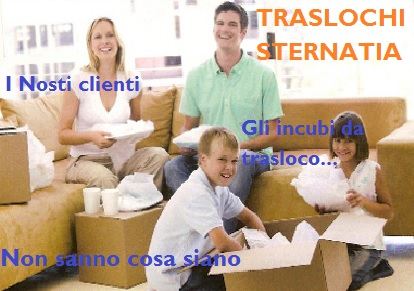TRASLOCHI STERNATIA PREZZI